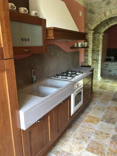 Lavabo e Piano in Santafiora